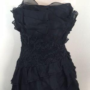 Tadashi Shoji Gorgeous Strapless Ruffle Dress